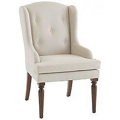 Seating - Lands' End Country Luxe Upholstered Wingback Chair - tufted, chair