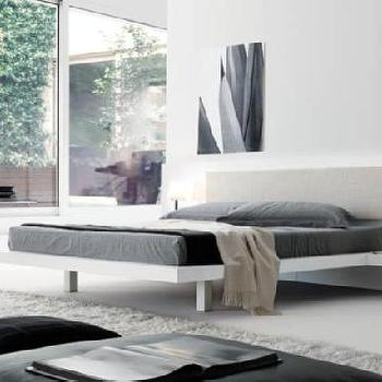 Beds/Headboards - Jesse SPA - products - night collection - beds - ala - white, gray, bedroom