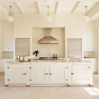 kitchens - kitchen, neutral, white,  Via two ellie. Neutral and amazing.  Creamy white kitchen