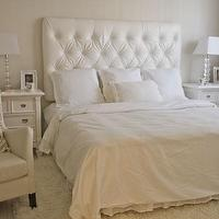 bedrooms - tjmaxx lamps, pottery barn clock, hotel collection white duvet, home-goods chair, zgallerie picture frame, white, tufted, headboard, white, nightstands, velvet tufted headboard, white velvet headboard, white velvet headboard, white tufted headboard, white velvet tufted headboard, tj maxx lamps, tjmaxx lamps,