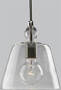 Progress Lighting P5184-104 Pendants Kitchen Mini Pendant, Polished Nickel, Contemporary / Modern Mini Pendants by Progress Lighting
