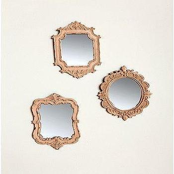Mirrors - UrbanOutfitters.com > Camille Wall Mirrors Set Of 3 - mirrors