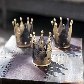 Mothology, The Science of Style, Metal Crown Votives