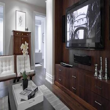 TV Built Ins, Contemporary, living room, Croma Design