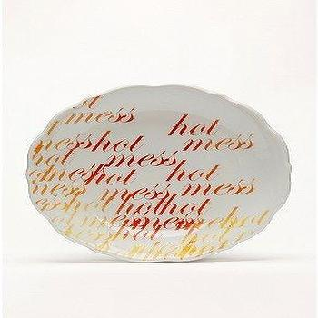 UrbanOutfitters.com > Hidden Meaning Plates, Hot Mess