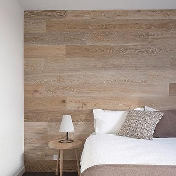 Wood Accent Wall, Modern, bedroom