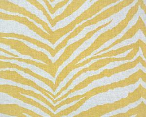 Fabrics - Linen Drapery Print Corn Yellow/Linen - fabric