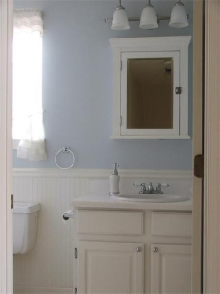 Bathroom Sherwin Williams Icelandic Blue