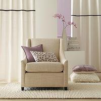 Seating - Sweep Armchair | west elm - curved, arm, chair