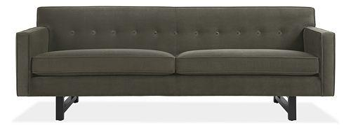 Room board andre sofa l4l for Room and board andre