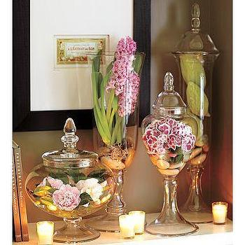 Decor/Accessories - Voluminous Camilla Canisters | Pottery Barn - glass, canisters