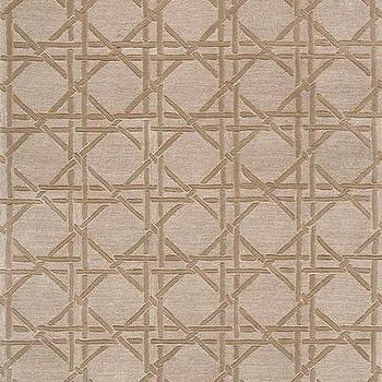 Delhi Borderless Lattice Rug in Taupe, DL-27
