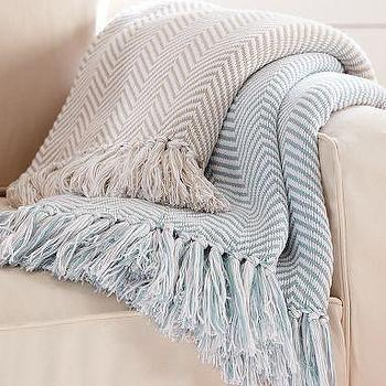 Herringbone Throw, Pottery Barn