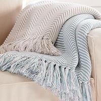 Bedding - Herringbone Throw | Pottery Barn - herringbone, throw