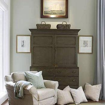 Distressed Armoire, Cottage, bedroom, Phoebe Howard