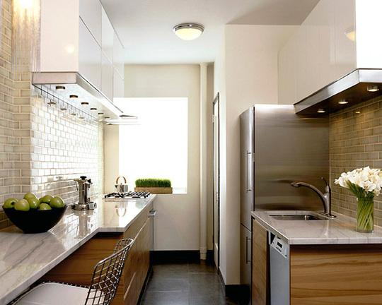 Beech cabinets contemporary kitchen apartment therapy - Ikea beech kitchen cabinets ...