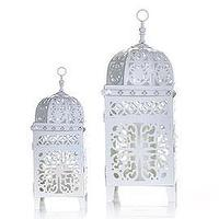 Decor/Accessories - Z Gallerie - Casablanca Lanterns - White - lantern