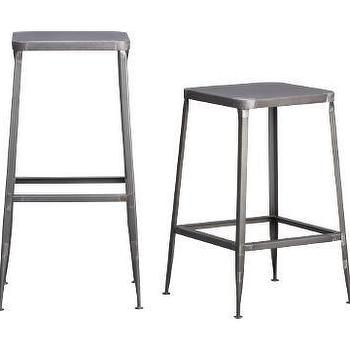 Seating - CB2 - flint barstools - stool