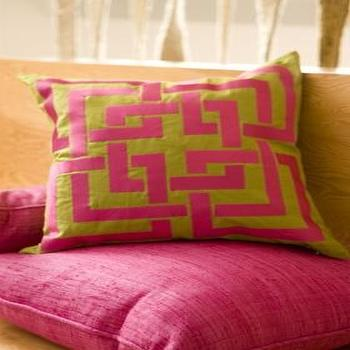 Pillows - Trina Turk | Shanghai Embroidered Pillow - trina turk, shanghai, pillow
