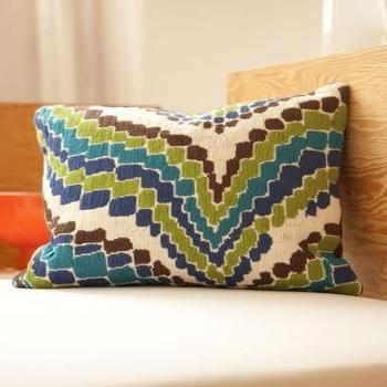 Pillows - Trina Turk | Trina Turk Lator Gator Pillow - trina turk, lator gator, pillow, blue