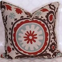Pillows - Suzani Pillow by decorativeinstincts on Etsy - suzani, pillow
