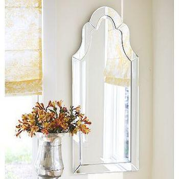 Mirrors - Elise Frameless Mirror | Pottery Barn - elise, mirror