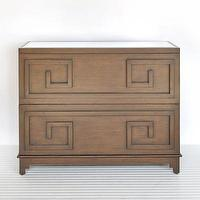 Storage Furniture - Wrenfield Chest 2 Two Drawer Storage Dresser Worlds Away Cherry Wood Dark Wood Bedroom Living Room Furniture Modern HOme Decor - chest