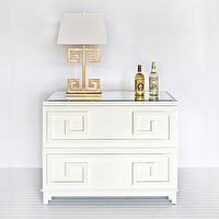 Storage Furniture - Wrenfield Chest 2 Two Drawer Storage Dresser Worlds Away White Lacquered Wood Light Wood Bedroom Living Room Furniture Modern HOme Decor - wood, chest