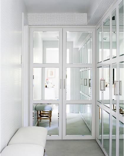 Closet Mirror Doors