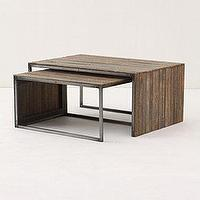 Tables - Lath Nesting Tables - Anthropologie.com - nesting, tables