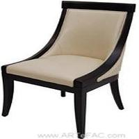 Seating - RV-5462 Accent Leather Chair - leather, dining, chair