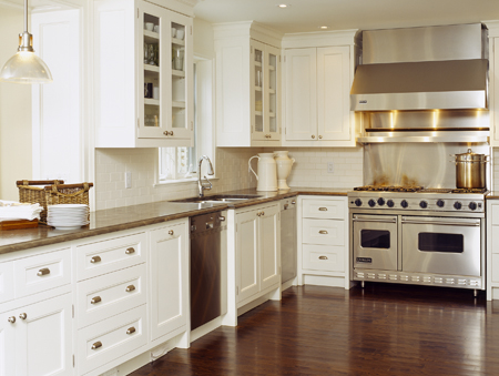 Kitchen Pictures  White Cabinets on Beautiful Off White Kitchen Design With Creamy White Kitchen Cabinets