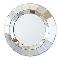 Mirrors - Designer's Studio - Ainsworth Round Wall Mirror - ainsworth, web, mirror
