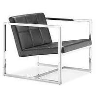 Seating - Spacify - Online Furniture Store For Modern and Contemporary Designs - black, leather, tufted, chair