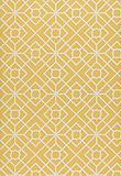 Wallpaper - Wallcovering / Wallpaper | Luan Fretwork in Yellow | Schumacher - yellow, fretwork, wallpaper