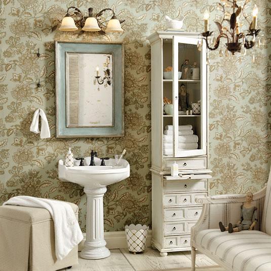 Chic Bathroom Decor | Home Interior Design