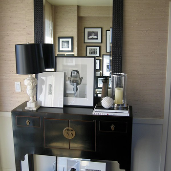 Wallpaper for Foyer, Contemporary, entrance/foyer, Ron Marvin