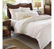 Beds/Headboards - Bedroom Four | Pottery Barn - white, sheets, bedding, bedroom