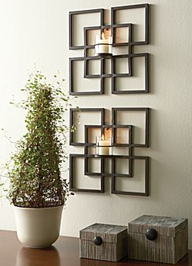 Geometric Wall Sconce Look 4 Less!