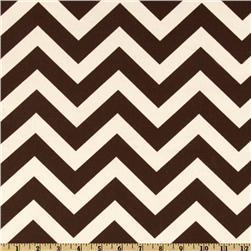 Premier Prints ZigZag Village Brown/Natural, Discount Designer Fabric, Fabric.com