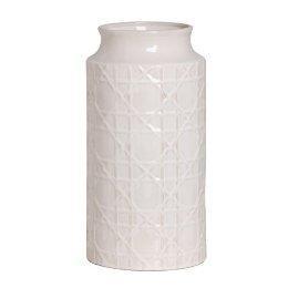 Decor/Accessories - Cane Design Vase Short - White : Target - white, cane, vase