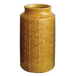 Cane Style Vase, Amber : Target