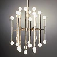 Lighting - Jonathan Adler Meurice Chandelier in Ceiling Lights - Jonathan Adler, Meurice, pendant