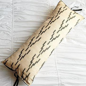 Pillows - Handloomed Ikat Pillow Cover | west elm - ikat, pillow