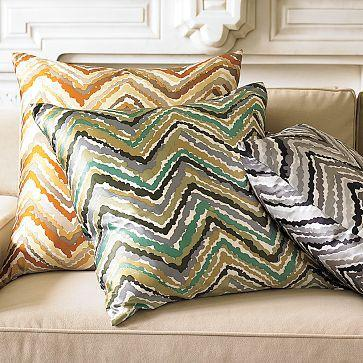 Chevron Pillow Cover | west elm