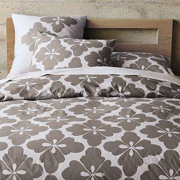 Clover Duvet Cover + Shams, west elm