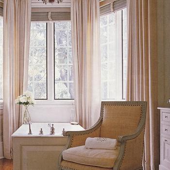 Raffia Chair Traditional Bathroom Circa Interiors Amp Antiques
