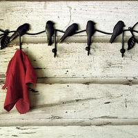 Art/Wall Decor - recycled bird coat rack - recycled, bird, coat, rack