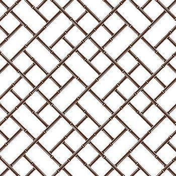Jonathan Adler Bamboo Wallpaper in Wallpaper