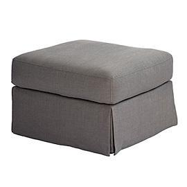 Seating - Z Gallerie - Nathan Ottoman - gray, bench